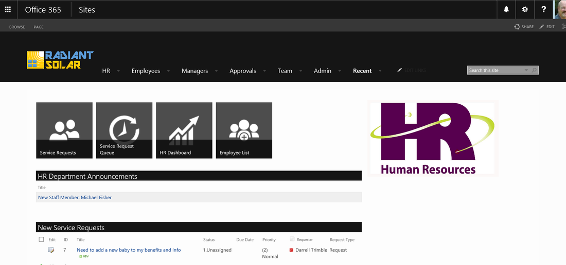 HR Portal For SharePoint ISAAC Intelligence