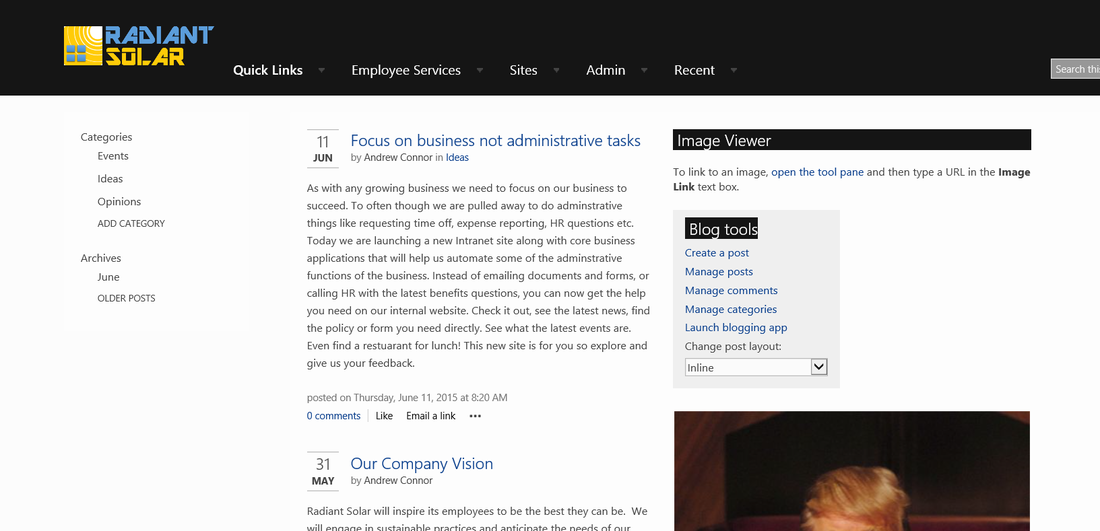 ceo or internal newsletter blog as many as you want isaac