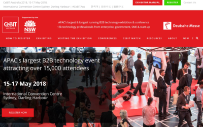 Our Exec Team are visiting CeBIT on Wednesday 16th May, Darling Harbour, Sydney, Australia