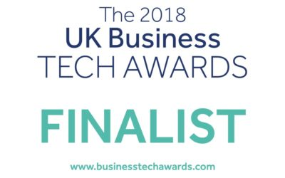 ISAAC shortlisted for the UK Business Tech Awards 2018 delivered by BusinessCloud