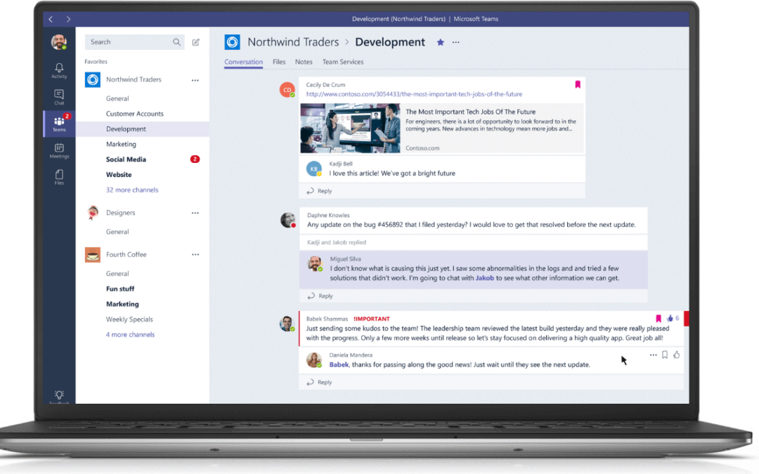 Why Microsoft Teams - ISAAC Intelligence