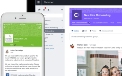 Remote Training: Improved Employee Engagement with Yammer