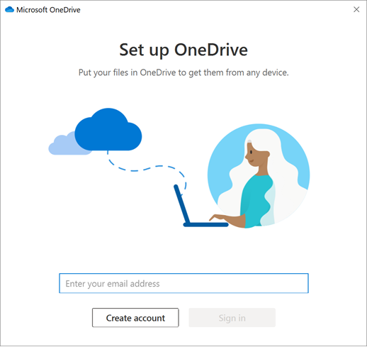 How to setup the OneDrive Sync Client